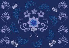 Free Abstract Floral Ornament Royalty Free Stock Images - 19128689