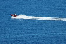 Free Motor Boat On Sea Stock Images - 19129124