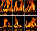 Free Fire And Flames Stock Image - 19130241