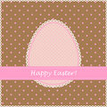 Free Easter Retro Greeting Card Royalty Free Stock Photos - 19139908