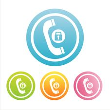Free Colorful Phone Signs Stock Photography - 19132352