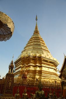 Free Old Buddhist Pagoda Royalty Free Stock Photos - 19132438