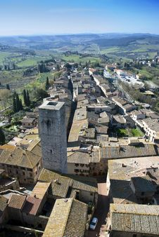 Free San Gimignano - Tuscan Italy Stock Image - 19133191