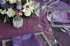Free Luxury Place Setting Royalty Free Stock Photography - 19133357