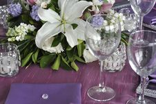 Party Table Royalty Free Stock Photos