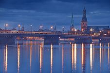 Free Daugava. Royalty Free Stock Photography - 19133617