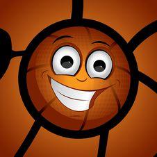 Basketball Character Set 1 Stock Image