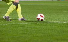 Free Soccer Player Stock Photos - 19133833