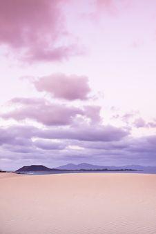 Free Sunset On Fuerteventura Royalty Free Stock Photos - 19134438