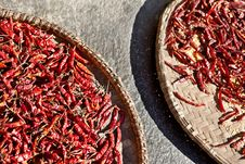 Free Chili Peppers Royalty Free Stock Photography - 19135247