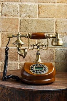 Free Vintage Luxurious Telephone Old Fashion Stock Images - 19135444