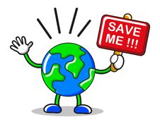 Free Save The Earth Stock Image - 19135931