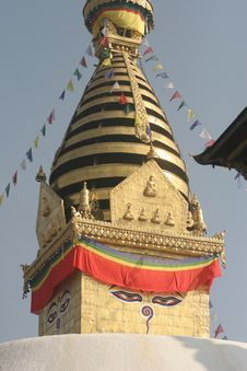 Monkey Temple Stock Photos