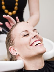 Free Hair Salon Situation Stock Photo - 19136940