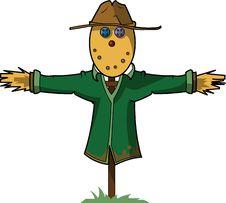 Free Scarecrow Illustration Royalty Free Stock Photos - 19137668