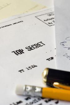 Free Top Secret Stock Images - 19137884