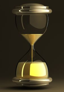 Free Closeup Of Hourglass Royalty Free Stock Photography - 19138247