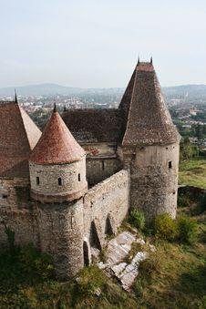 Free Medieval Castle Of Hunedoara Stock Image - 19138261