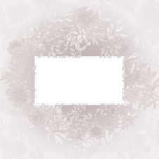 Free Beige Floral Background Royalty Free Stock Photo - 19138785