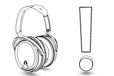 Free Headphone With Excitation Royalty Free Stock Photography - 19139797