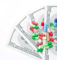 Free Medicines Costs Money Stock Photo - 19139930