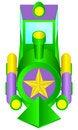Free Children S Locomotive. Royalty Free Stock Photo - 19142005