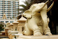 Free Elephant Statue In Front Of Building Royalty Free Stock Images - 19147629