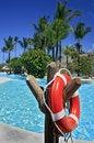 Free Red Lifebuoy 1 Stock Image - 19147711