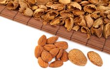 Free Almonds  With Hulls Royalty Free Stock Photography - 19140067