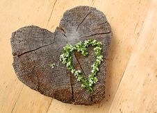 Free Wooden Heart Royalty Free Stock Photos - 19140278
