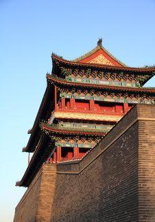 Free The Zhengyang Gate Royalty Free Stock Photo - 19141375