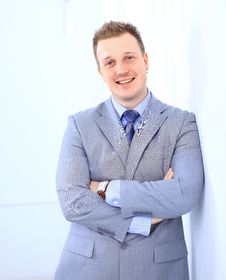 Free Handsome Business Man Stock Photography - 19141812
