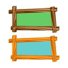Wooden Frameworks. Stock Image