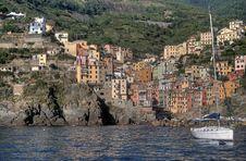 Free Port Of Riomaggiore Royalty Free Stock Image - 19142606