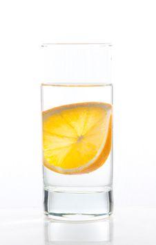 Free Water And Orange Royalty Free Stock Image - 19142696