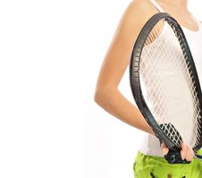 Free Young Female Tennis-player Stock Photos - 19142923