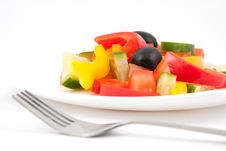 Free Vegetable Salad Royalty Free Stock Photo - 19143175