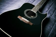 Free Black Guitar Stock Photos - 19143213