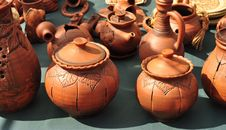 Free Pottery, Pot, Jug And Kettle Royalty Free Stock Image - 19143236