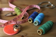 Free All For Sewing Stock Images - 19143254