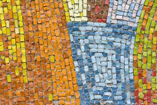 Free Antique Mosaic Close Up Stock Photos - 19143273