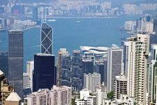 Free Hong Kong Skyline Royalty Free Stock Image - 19143346