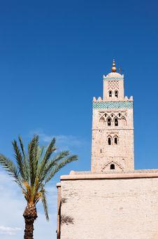 Free Koutoubia Mosque Marrakesh Stock Images - 19143594