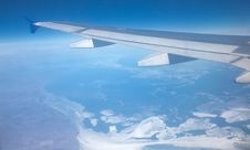 View Of The Clouds In Flight Royalty Free Stock Photo