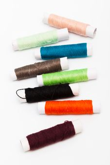 Free Set Of Threads Stock Photography - 19144102