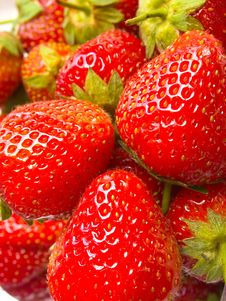 Free Fresh Strawberry Royalty Free Stock Photos - 19144958