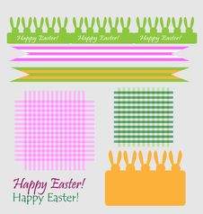 Free Set Of Easter Symbols Royalty Free Stock Photos - 19145508