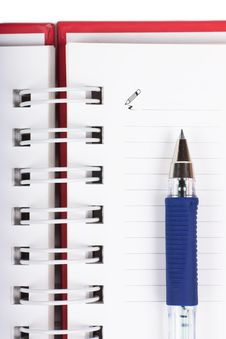 Free Spiral Notebook Stock Images - 19145984