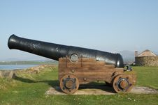 Cannon. Royalty Free Stock Image