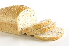 Free Sliced Bread. Whole Wheat. Stock Image - 19146531